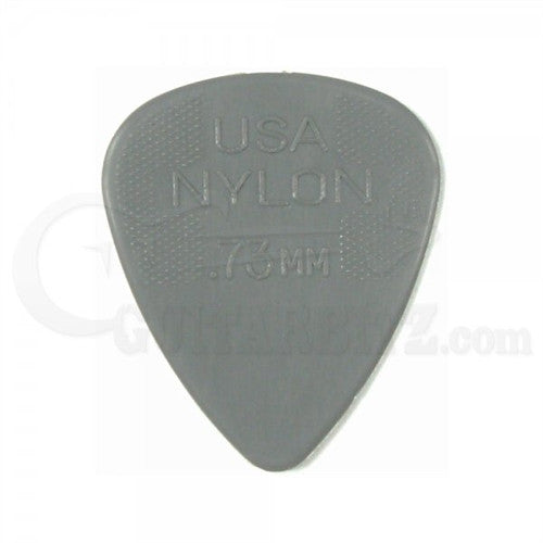 Nylon Standard .73mm Pick (12 pack Grey) - Ken Stanton Music