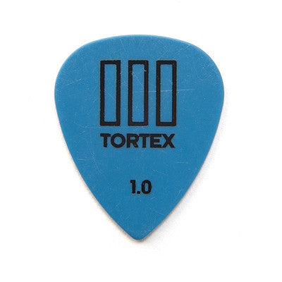 Tortex TIII 1.0mm Pick (12 pack Blue)