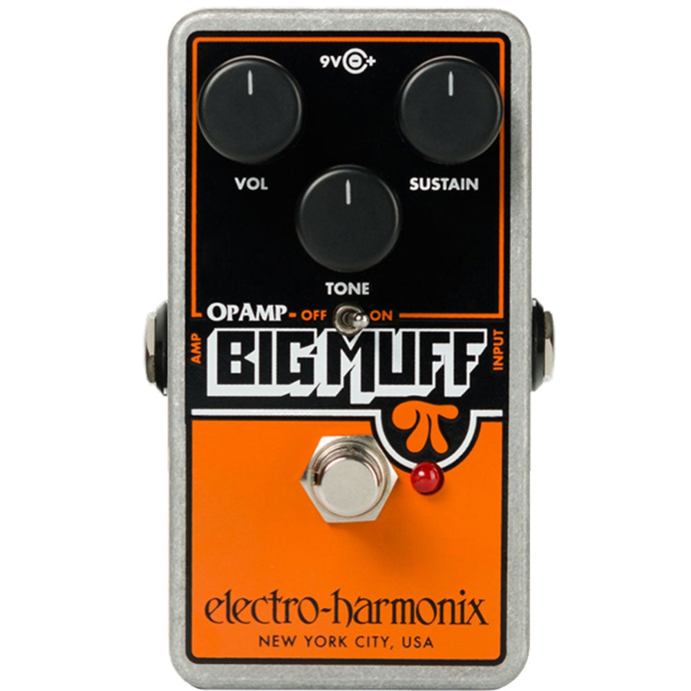 Electro-Harmonix Op Amp Big Muff Pi Reissue Distortion Sustainer Pedal