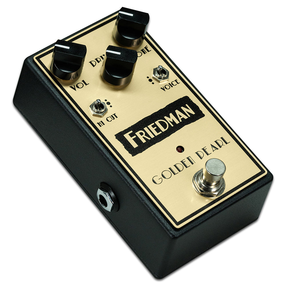 Friedman Amplification Golden Pearl Overdrive Pedal