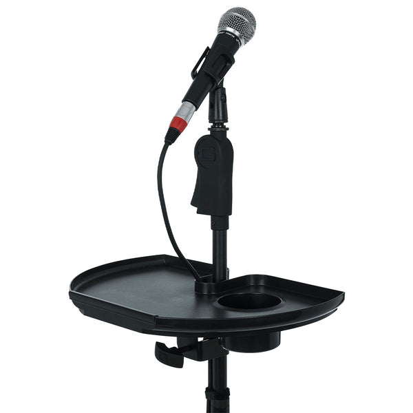 Gator GFW-MICACCTRAYXL Frameworks Extra Large Microphone Stand Accessory Tray