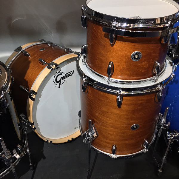 Gretsch GBRC423SM Brooklyn 3-Piece Shell Kit in Satin Mahogany
