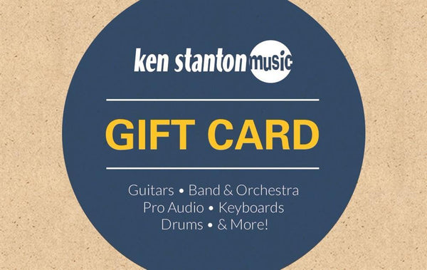 $100 gift card for Ken Stanton Music