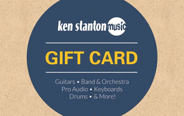 $25 gift card for Ken Stanton Music