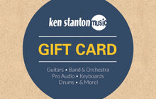 $50 gift card for Ken Stanton Music