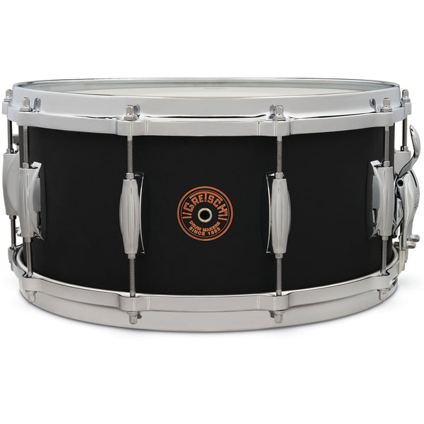 Gretsch G4164BC USA Custom Snare Drum 6.5 x 14 in. Black Copper