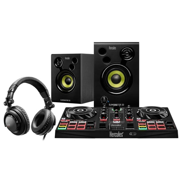 Hercules DJ Learning Kit - Starter Kit to Become a DJ