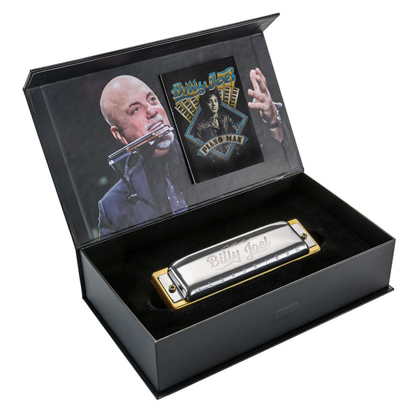 Hohner M535016 Billy Joel Signature Harmonica, Key of C