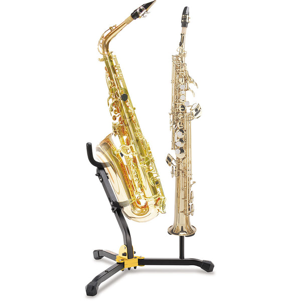 Hercules DS533BB Saxophone Multi-Stand for Alto/Tenor and Soprano with Bag