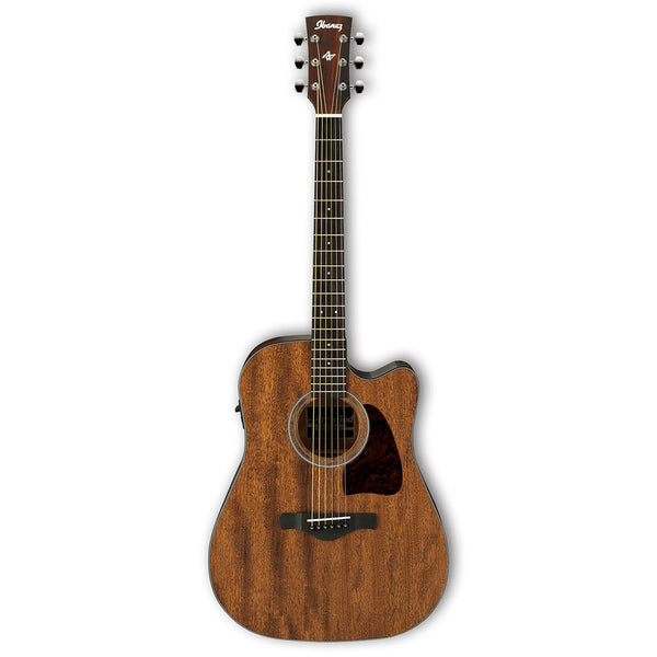 Ibanez AW54CE-OPN Acoustic Electric Guitar Mahogany Open Pore