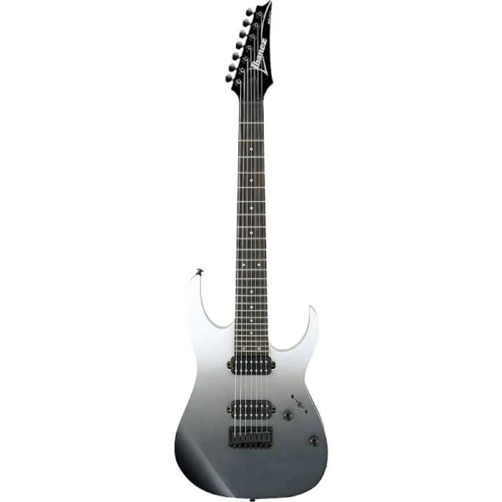 Ibanez RG7421PFM Solidbody Electric Guitar in Pearl Black Fade Metallic