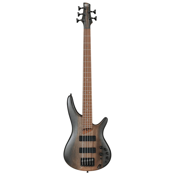 Ibanez SR505ESBD SR 5-String Electric Bass in Surreal Black Dual Fade