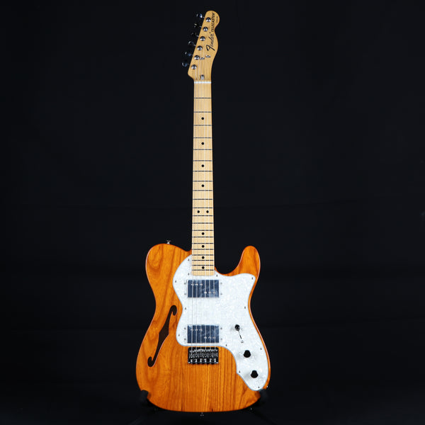 Fender Vintera '70s Telecaster Thinline with Gig Bag Aged Natural Finish