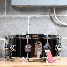 DW Collector's Series Snare - 5.5x14 Snare Black Nickel Over Brass