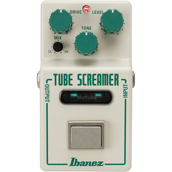 Ibanez NU Tubescreamer with Korg Nutube Pedal