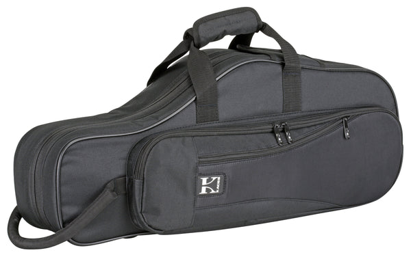 Ace Products Lightweight Hardshell Alto Sax Case, Black