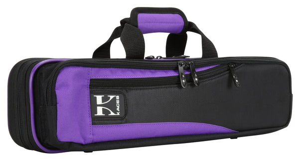 Ace Products Lightweight Hardshell Flute Case, Purple