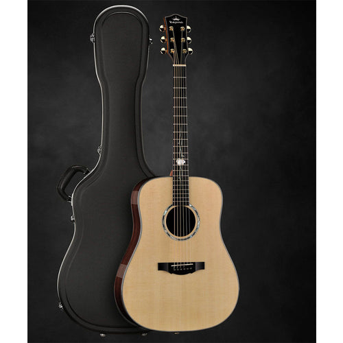 Kepma D2-120A Elite Dreadnought Acoustic Electric Guitar Indian Rosewood