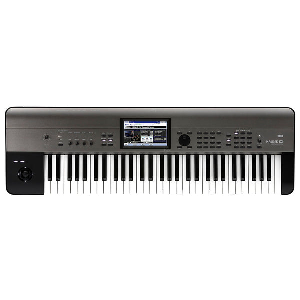 Korg KROME EX61 61-Semi-Weighted Key Music Workstation Keyboard