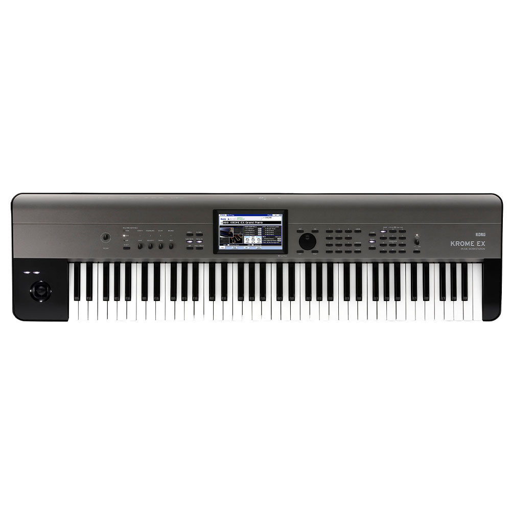 Korg KROME EX 73 73-Key Music Workstation Semi-Weighted Keyboard