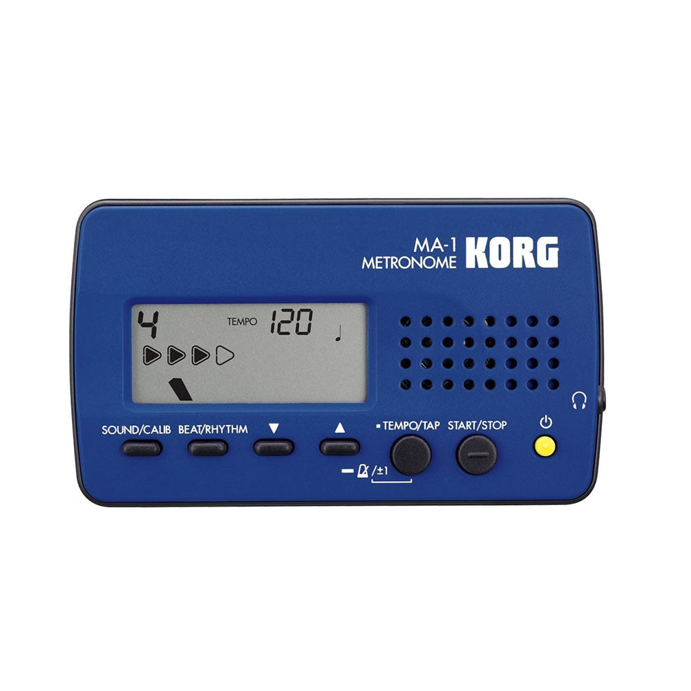 Korg MA-1 Solo Compact Metronome in Blue