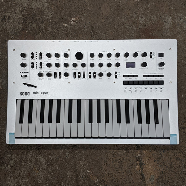 Korg Minilogue 37-Key Polyphonic Analog Synthesizer (Open-Box) - 5700