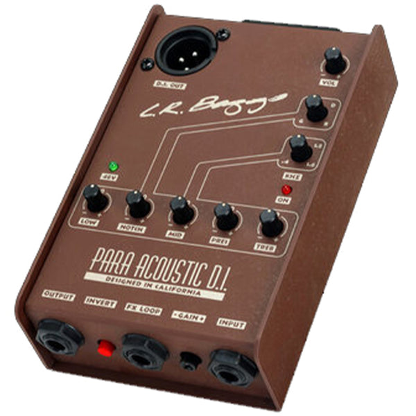 L.R. Baggs Para Acoustic DI Direct Box and Preamp with 5-Band EQ