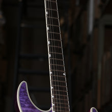 ESP LTD MH-1000NT Electric Guitar in See Thru Purple