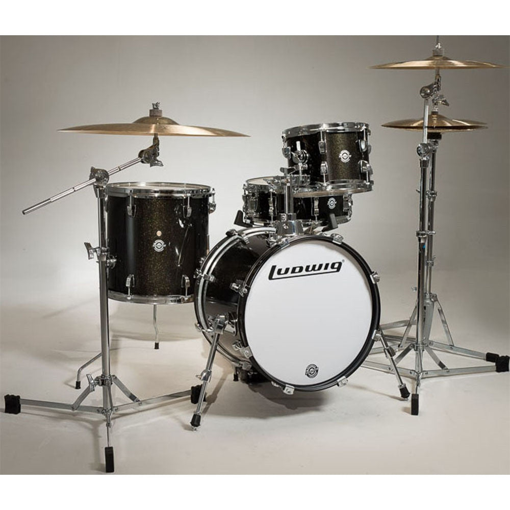 Ludwig Breakbeats Drum Kit in Black Sparkle
