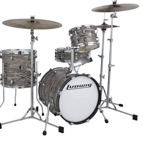 Ludwig LC179XX017 Breakbeats Shell Pack by Questlove - Sahara Swirl