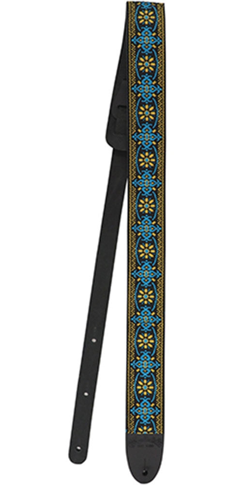 Martin 18A0085 Retro Woven Guitar Strap in Yellow