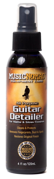 Music Nomad MN100 Guitar Detailer-Matte & Gloss Cleaner