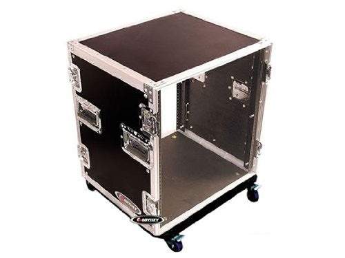 Odyssey FZAR12W 12 Space Amp Rack with Wheels