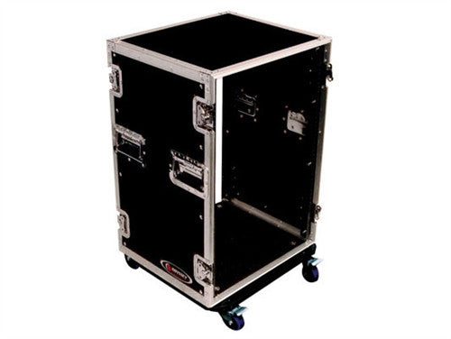 16 Space Amp Rack with Wheels