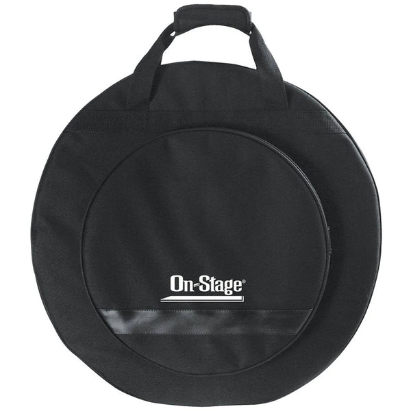 On Stage CB4000 Deluxe Backpack Cymbal Bag in Black - Ken Stanton Music