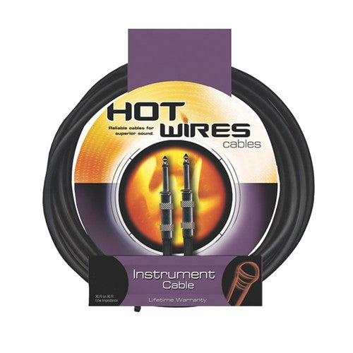 Hot Wires Guitar Instrument Cables - 10 Feet
