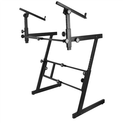 2 Tier Folding Z Keyboard Stand