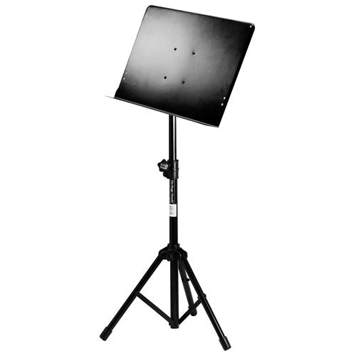 On-Stage SM7211B Professional Folding Orchestral Music Stand - Black - Ken Stanton Music