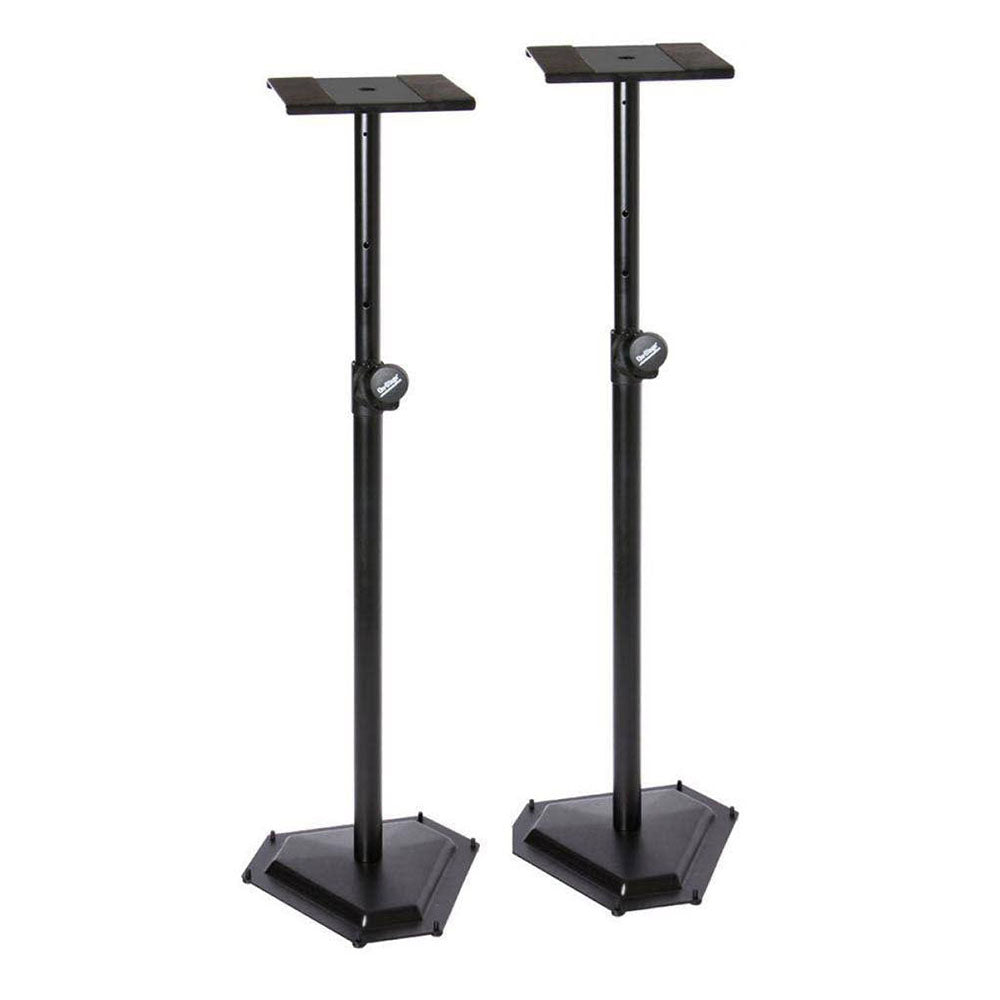 On-Stage Stands SMS6600-P Hex-Base Studio Monitor Stands (Pair)