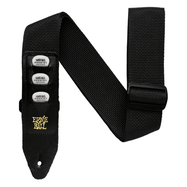 Ernie Ball P04039 Pickholder Strap, Black