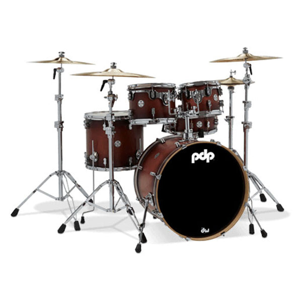 PDP Concept Maple 5-Piece Maple Shell Pack - Satin Tobacco Burst