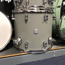 PDP Concept Maple 7-Piece Shell Kit in Satin Pewter, Chrome Hardware