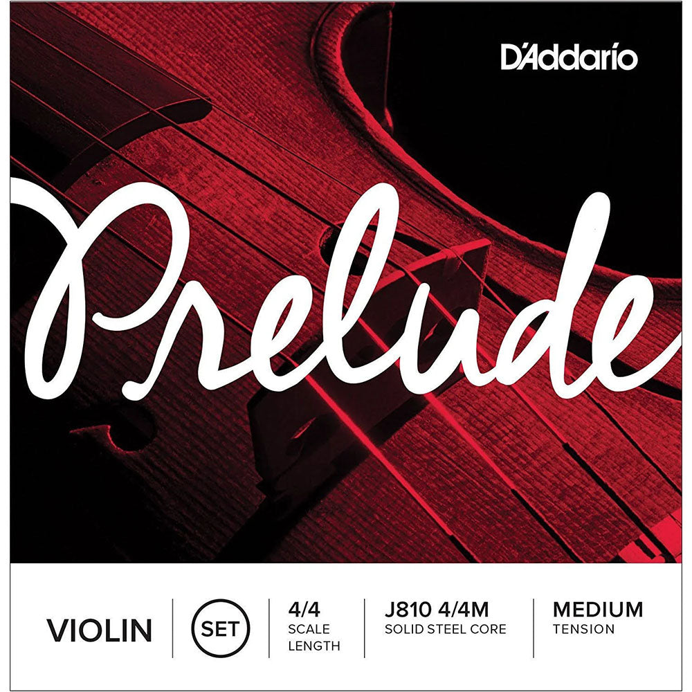 Prelude J81044M Violin String Set - 4/4 Scale - Medium Tension - Ken Stanton Music