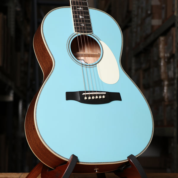 Paul Reed Smith Limited SE P20E Parlor Acoustic Electric Guitar in Powder Blue