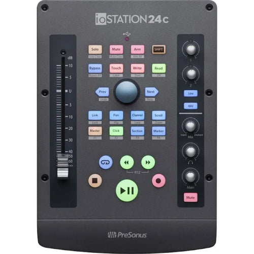 PreSonus ioStation 24C USB-C Audio Interface and Production Controller