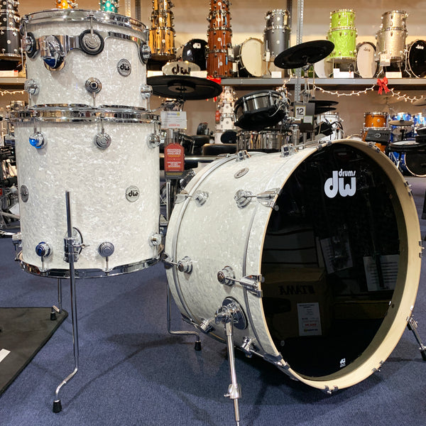 DW Collector's Series 3 Piece Shell Kit in Ultra White Marine