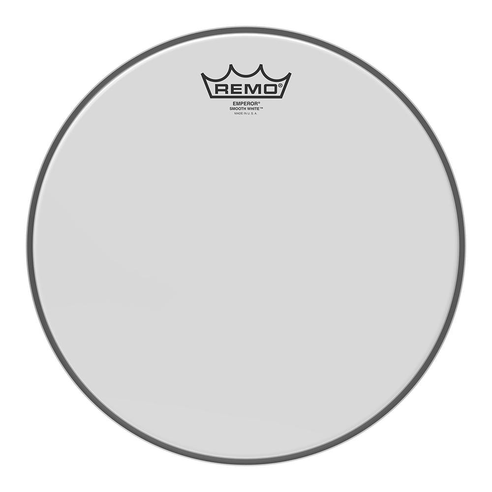 REMO BE021200 Emperor Smooth White Drumhead, 12