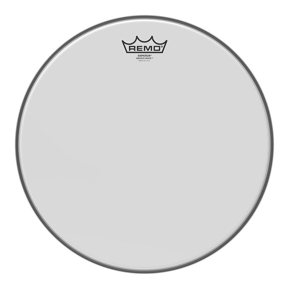 REMO BE021400 Emperor Smooth White Drumhead, 14