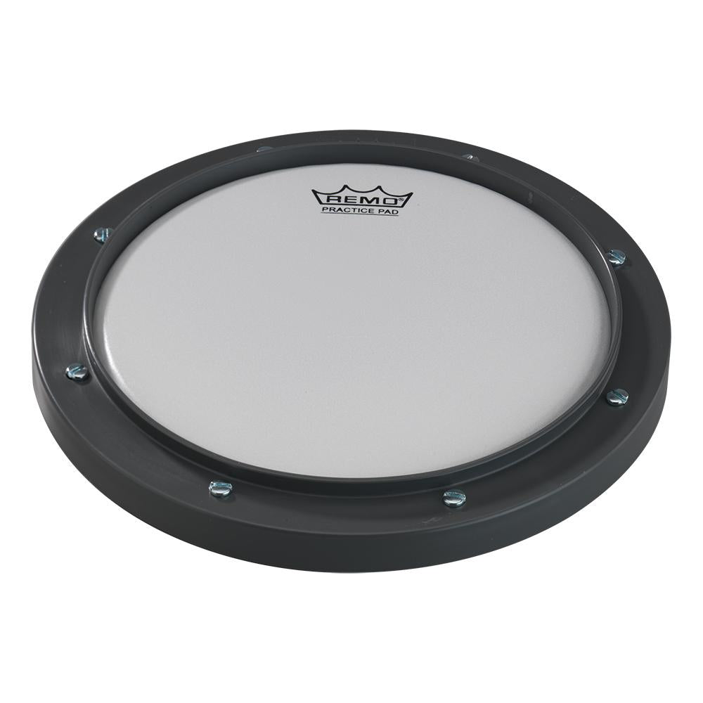 REMO RT000800 Practice Pad - Tunable, Grey, Ambassador Coated Drumhead, 8