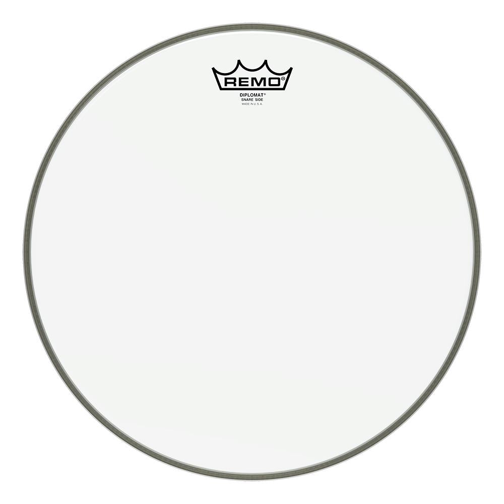 REMO SD011400 Diplomat Hazy Snare Side Drumhead, 14